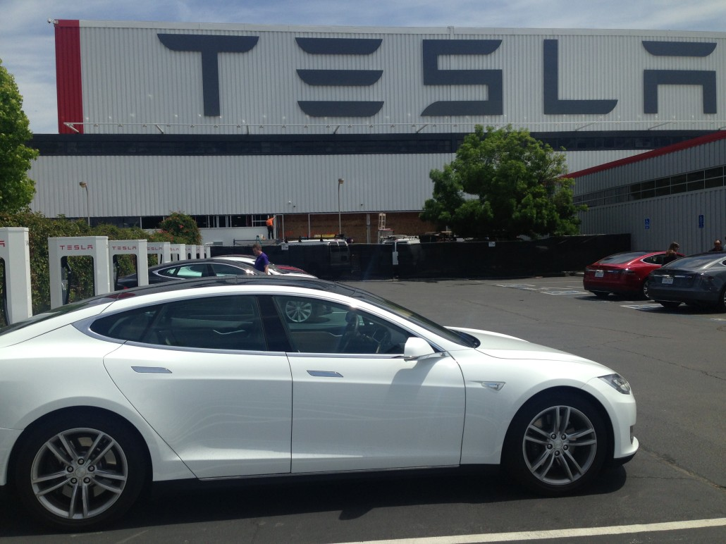 Tesla Motors Factory in Fremont, CA. Photo Copyright 2014 by Tony Seba