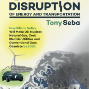 Tony Seba author of Clean Disruption of Energy and Transportation