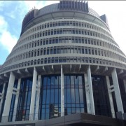Wellington, NZ, Parliament - Beehive