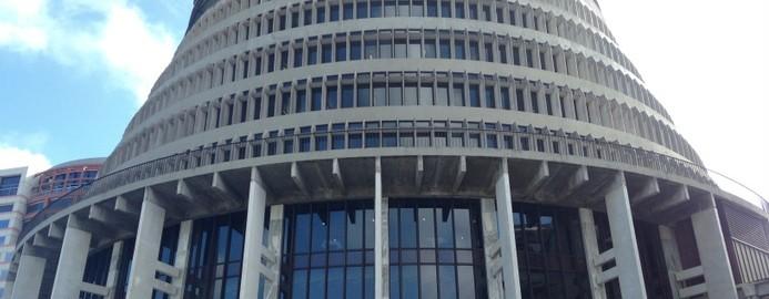 Wellington, NZ, Parliament - Beehive