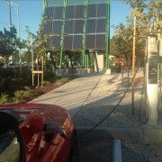 Distributed Solar PV and EV Charging Station. Copyright @2014 by Tony Seba