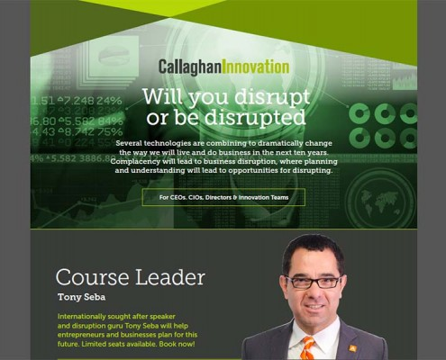 Anticipating and Leading Market Disruptions