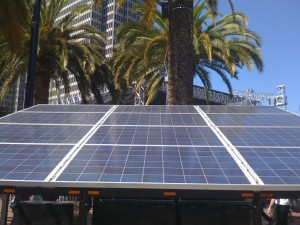 Portable Solar PV - San Francisco (Copyright @2010 by Tony Seba)
