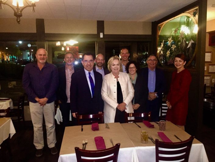 New Zealand Minister of Energy Judith Collins and Trade Delegation