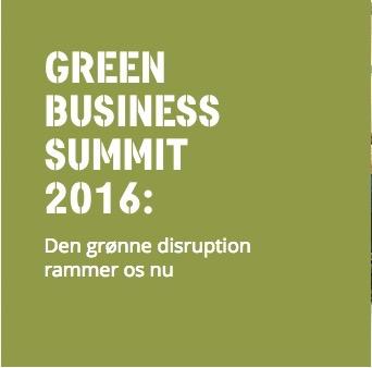 Green Business summit 2016