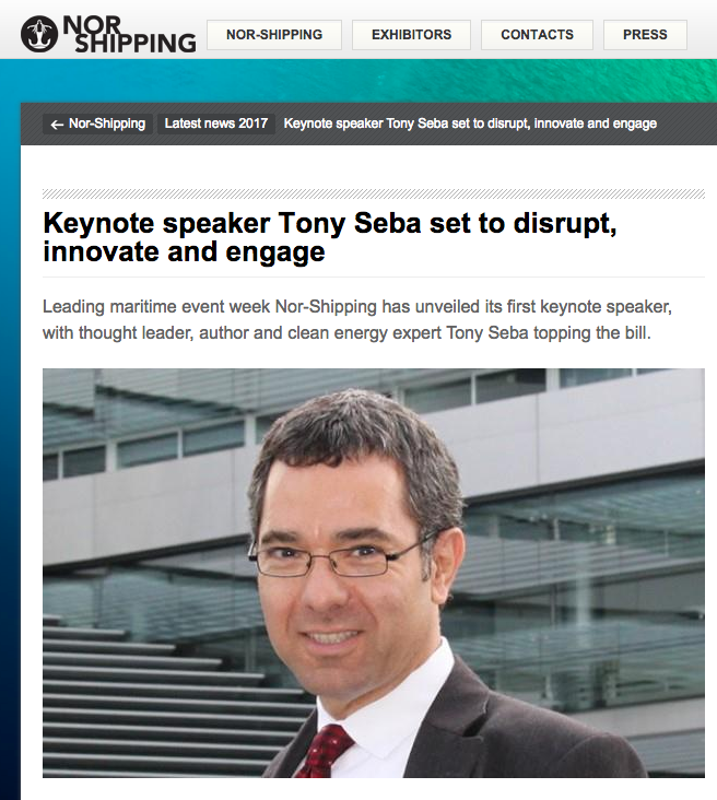 Nor-Shipping Keynote Speaker
